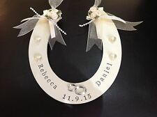 Wedding Lucky Horseshoe Gift Bridal Keepsake Present