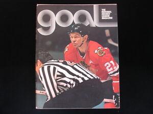 February 16, 1974 New York Islanders vs. Chicago Black Hawks Hockey Program