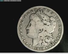 1892-S Morgan Silver Dollar,  .7734 oz Silver, Low to Medium  Grade (US-3843)