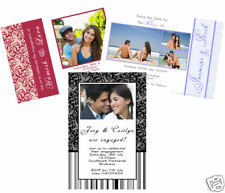 10 SAVE THE DATE full Magnetic Invitation Wedding Magnet many designs engagement