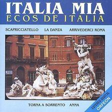 Various Artists : Italia Mia Ecos De Italia Vol. I, Ecos D CD