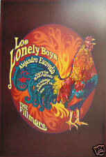Los Lonely Boys Fillmore Poster Original Bill Graham F1042 Al Esconvido