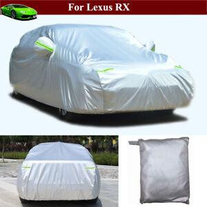 Full Car Cover Waterproof / Windproof / Dustproof for Lexus RX 2016-2021