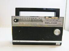 VINTAGE BALCOR 12 TRANSISTOR AM FM RADIO MODEL TR-2004