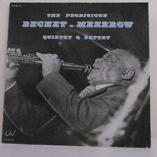 """2 x 33T BECHET - MEZZROW Disque Vinyle LP 12"""" QUINTET & SEPTET Jazz FESTIVAL 117"""