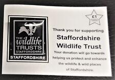 Pin Badge - Staffordshire Wildlife Trust