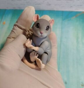BJD Mouse, animal toy,  resin