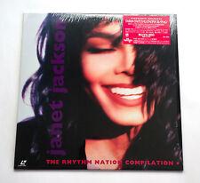JANET JACKSON The Rhythm Nation Compilation JAPAN LD Laserdisc VALA-3526