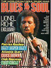 Lionel Richie  Blues & Soul 1987    Patrice Rushen    Isley Jasper Isley