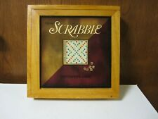 SCRABBLE Board Game in Wooden Box Nostalgia Game Series NEW SEALED