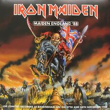 IRON MAIDEN - MAIDEN ENGLAND '88  2 VINYL LP 18 TRACKS HARD & HEAVY / METAL NEW+