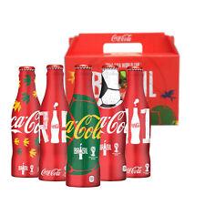 Coca Cola Aluminum Bottles Box Set FIFA World Cup 2014, Empty Bottle, Thailand