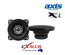 """AXIS XR42 4"""" 100mm 2-WAY COAXIAL SPEAKERS AUDIO 90W PEAK POWER PAIR"""