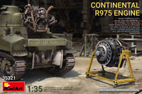Continental R975 Engine (Plastic model Kit) 1/35 MiniArt  35321