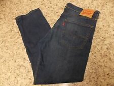 LEVIS 513 MENS BLUE JEANS 36 X 30 REGULAR FIT -FREE SHIPPING