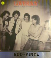 LOVERBOY Lovin' Every Minute Of It 1985 UK VINYL LP CBS26573 1st Press A1/B1 VGC