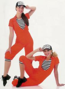 GROUP LOT 4- Child Small (2) Child 6X7(2) WORK IT w/ Hat Dance Costume Jailhouse