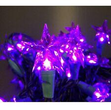 chaîne lumineuse LED étoile de Noël mauve étoiles LED sternenlichterkette Noël