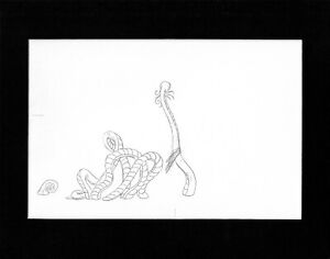 Star Wars Holiday Special 1978 Original Production Animation Cel Drawing 16