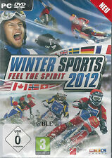 PC DVD-ROM + Winter Sports 2012 + Feel the Spirit + Wintersport + Sport + Win 7