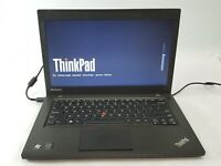 "Lenovo ThinkPad T440 14"" Laptop i5-4300U 500GB HDD 4GB RAM NO OS/BATT/AC ***"