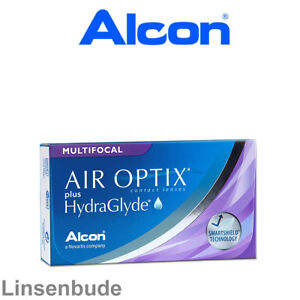 Alcon AIR OPTIX plus Hydraglyde Multifocal  1x6er Box multifocale Monatslinsen