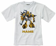 BUMBLEBEE TRANSFORMERS #1 PERSONALISED CHILDS T-SHIRT