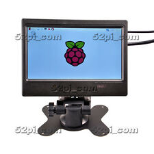 Raspberry Pi 3 Kit with 7 inch 1024*600 LCD Monitor 16GB SD Power HDMI Case