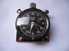 Vintage Rally Heuer Sebring Stop Watch with Dash Mount Free shipping
