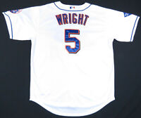 David Wright New York Mets 2009 Inaugural Majestic Authentic MLB Baseball Jersey