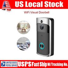 Smart Wireless WiFi DoorBell Video Phone Visual Camera Home Door IR Night Vision