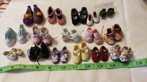 Doll BJD tinies shoe lot for tiny Kaye Wiggs, Blythe, etc   ~ 16 PAIR ~