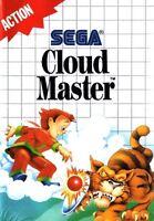 Cloud Master - SEGA Master System (Boxed & Fair Condition)
