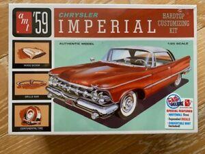 AMT 1959 CHRYSLER IMPERIAL RETRO DELUXE MODEL KIT HARDTOP CUSTOMIZING NEW KIT