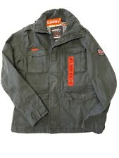 Superdry Mens Military Jacket Size Medium (small Defect) # S05