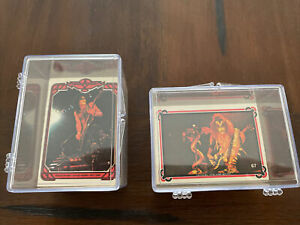 Kiss 1978 Donruss Cards Series 1&2 Complete Sets Nice Condition 132 Cards