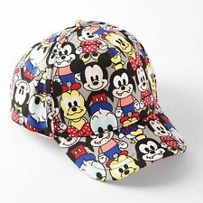 Girl Boy Kids Child Mickey Mouse Donald Duck Sports Sun Hat Golf Baseball Cap
