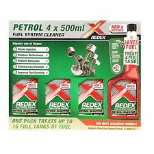 Redex gasolina limpiador de sistema de combustible 4 X 500ML