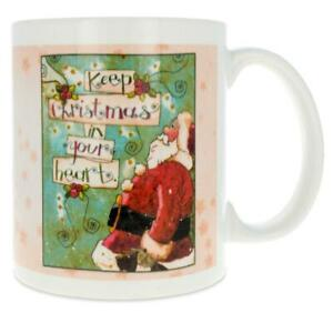 Keep Christmas In Your Heart Coffee Mug 4 Inches