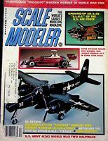 Vtg. Scale Modeler Magazine December 1980 Niki Lauders Ferrari 312T 1/12th  m75