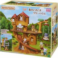 Epoch Sylvanian Families Forest The Wildly Thrilled Tree House EMS From Japan
