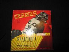 Vintage Bizet's Carmen 45 RPM Record WDM1078 ROBERT MERRILL, LICIA ALBANESE