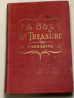 A Box Of Treasure Beverly Carradine 1910 Hardcover Book Christian  Witness Co.