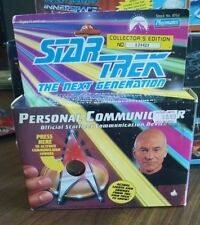 New Sealed Star Trek Personal Communicator Official Star Fleet Communication b31