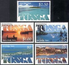 Tonga 1999 Tourism/Yachts/Boats/Harbour/Views/Sunset/Transport 5v set  (n18161)