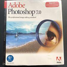 NEW Adobe PhotoShop 7.0 for Mac Macintosh - Upgrade Version - BNIB SEALED