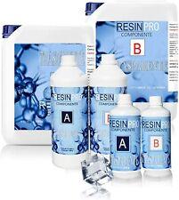 Resin Pro - 1.6 KG Résine Èpoxy Transparente non Toxique - Bicomposant A+B,