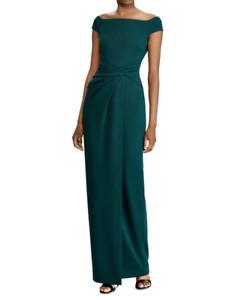 Lauren Ralph Lauren Crêpe Fixed Twist Gown MSRP $190 Size 2,6,8 # 4NB 756 NEW