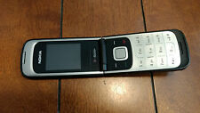 NOKIA 2720a-2b Unlocked GSM Flip Cell Camera Phone Mobile +2 Chargers Headphones