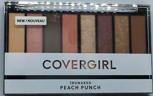 Covergirl Trunaked Eye Shadow Palette Peach Punch NEW